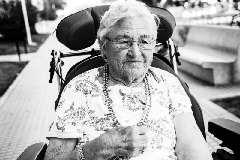 Patricia y su abuela Paula