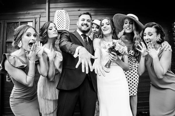 fotografía profesional para bodas expresiva