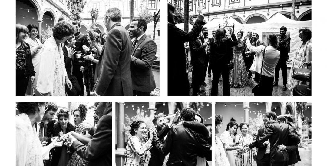 fotos de boda con invitados