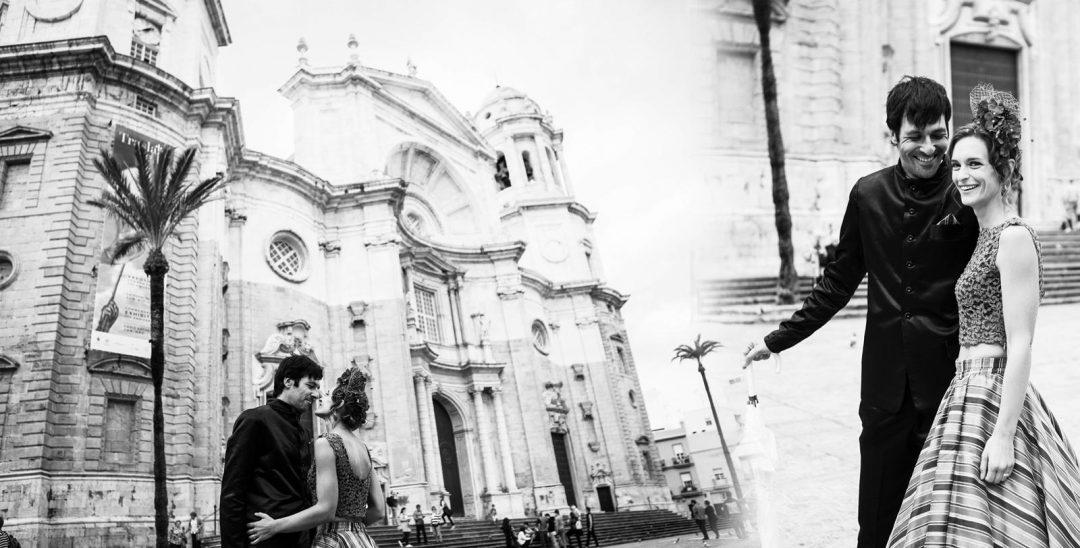 fotos de boda en la catedral de Cádiz
