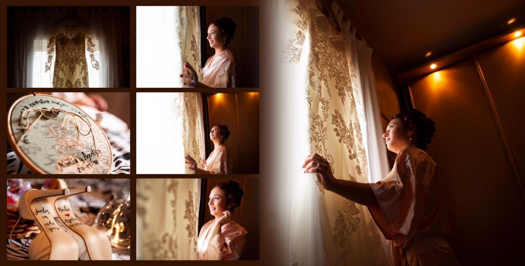 fotos del traje de la novia