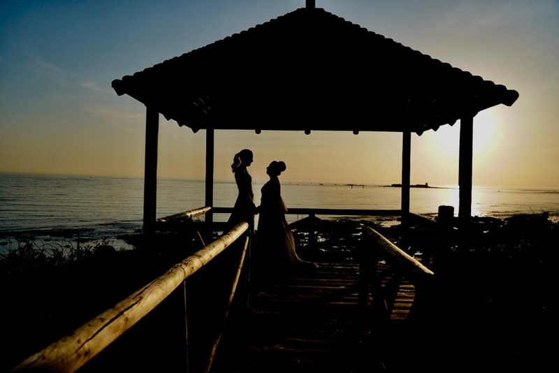 Fotografia postboda playa