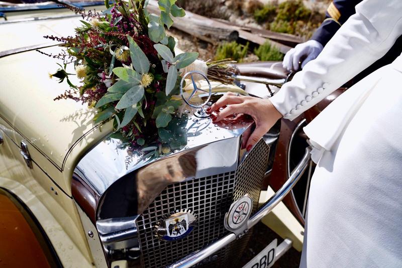 coches clasicos de bodas