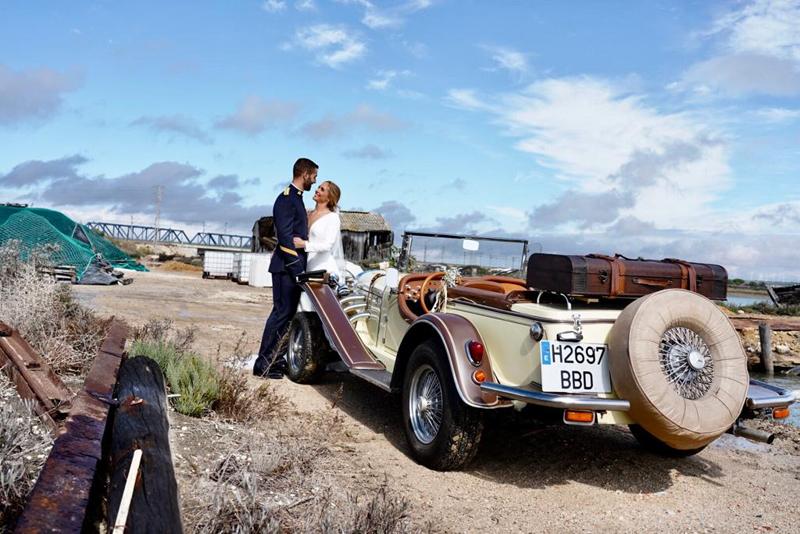 fotos de coches de bodas
