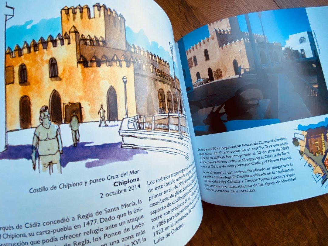 La provincia de Cadiz en un cuaderno